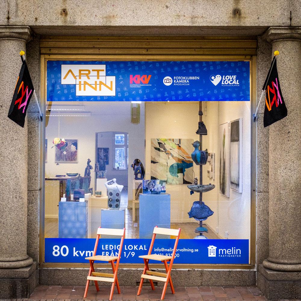 ART INN pop-up i Ängelholm