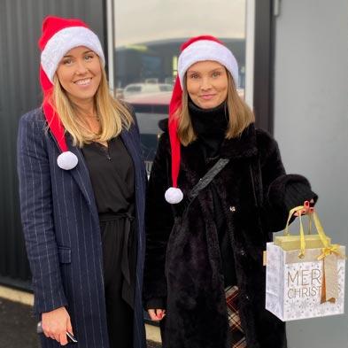Julklappshjälpen tillsammans med Rögle